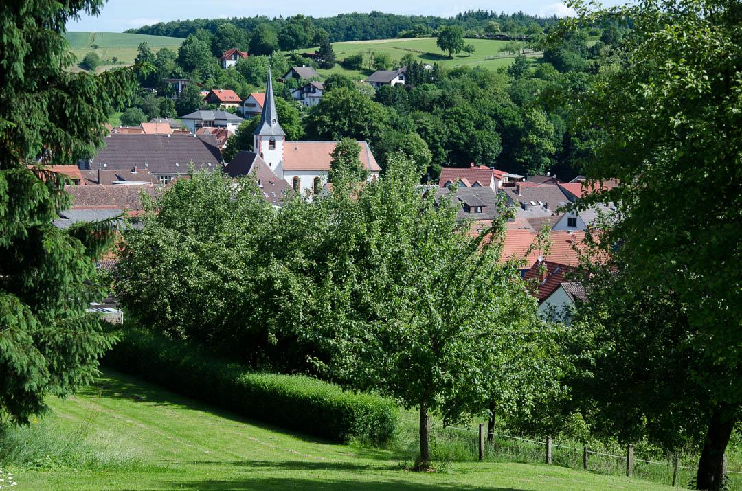 Fränkisch-Crumbach in het Odenwald