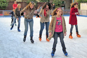 Schaatsbaan in Allicante