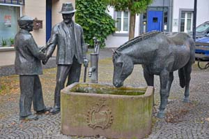 Paardenmarkt van Bittburg
