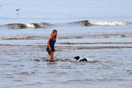 texel op strand