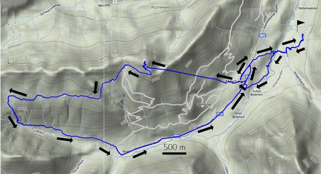 Bergweg Baad