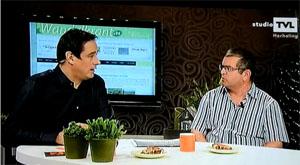 Interview op TVL met De Wandelkrant