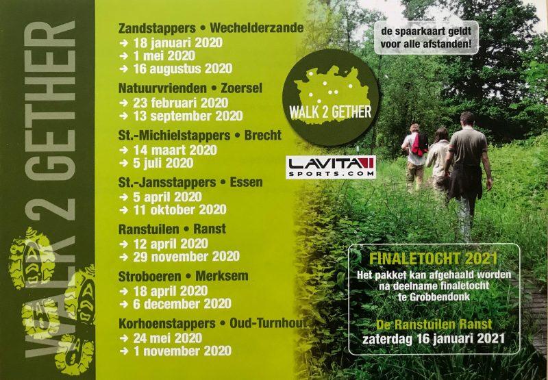 Walk2Gether-kalender