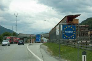 Oostenrijk-grensovergang