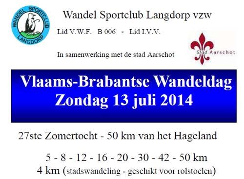 Vlaams-Brabantse wandeldag