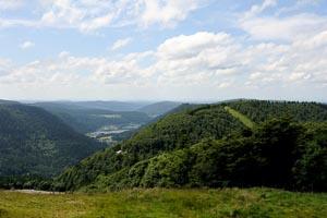 La Bresse Route des cretes Barrage de la Lande