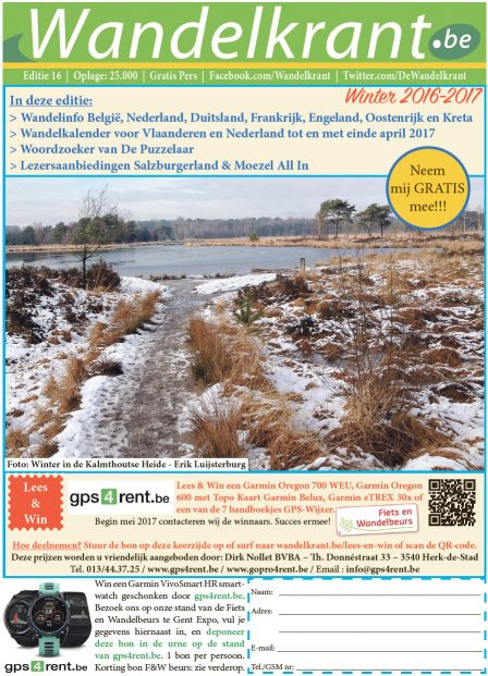 Wintereditie wandelkrant 2016-2017