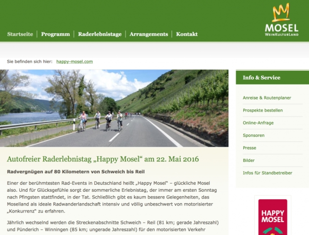 Happy Mosel