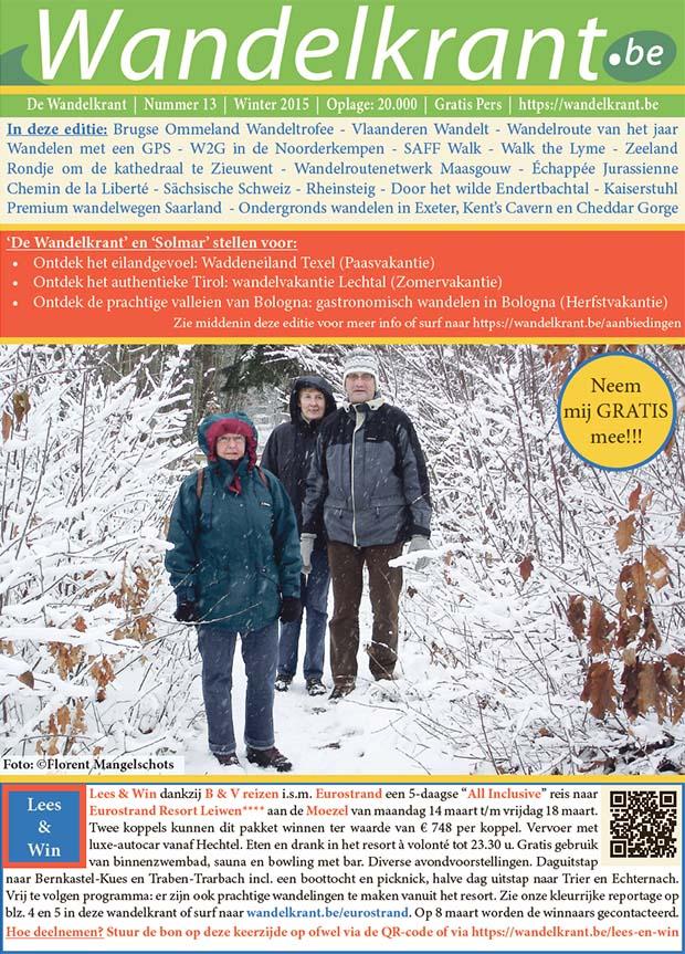 Editie 13 wandelkrant winter 2015