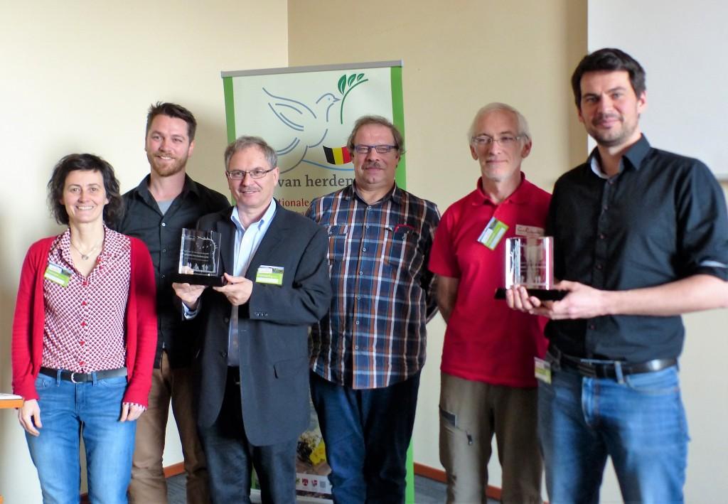 Trofee Belgische wandelroute van het jaar