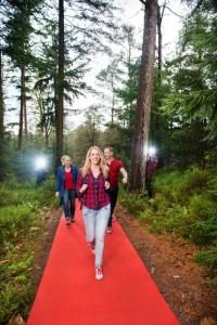 Rode Loper wandeling