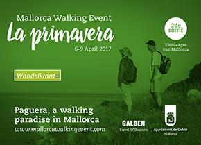 Flyer La Primavera wandelkrant sponsoring