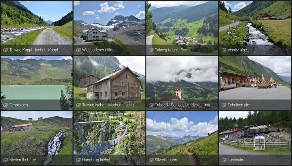 Paznauntal: Talweg van Kappl naar Ischgl