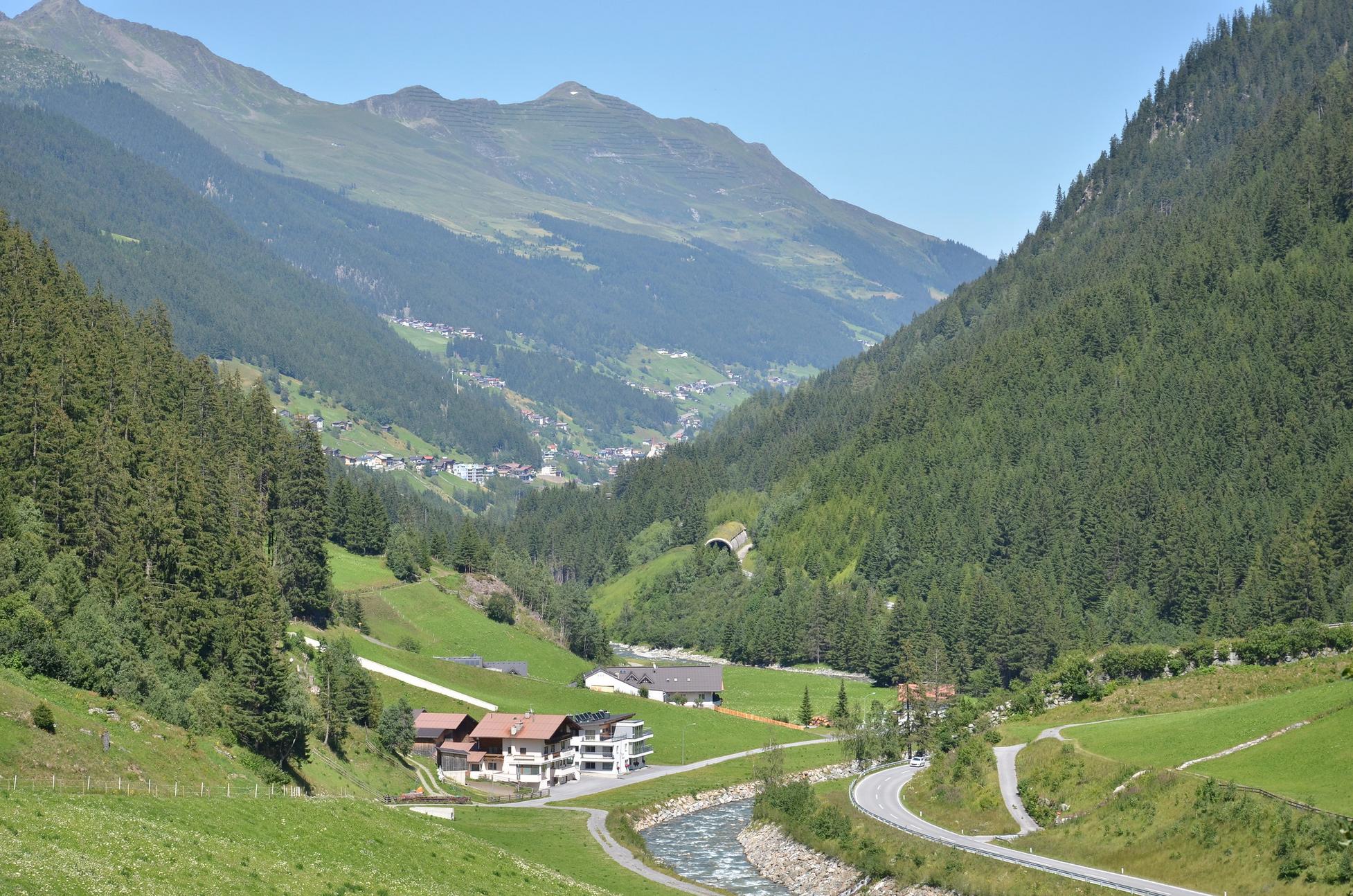 Talweg Kappl Ischgl