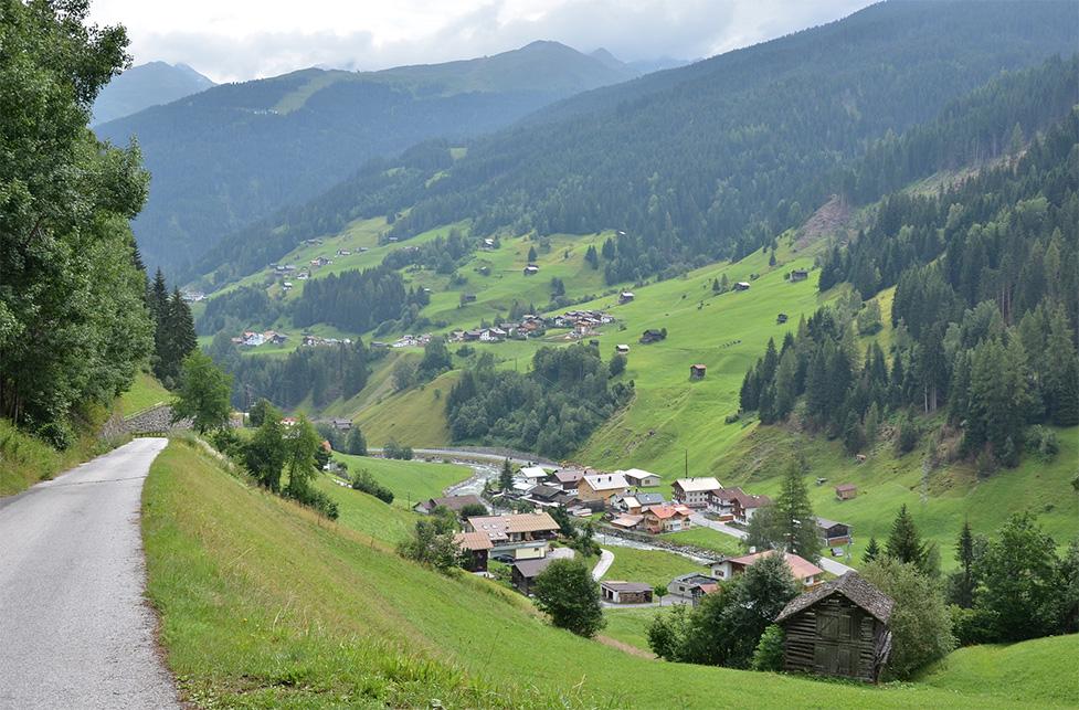 Talweg Kappl See