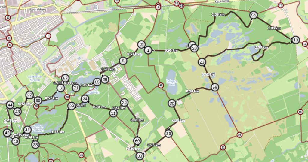 Route-Oisterwijkse-Vennen-wk20