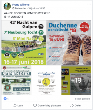 Frenskes Wandeltochten Promotiepagina
