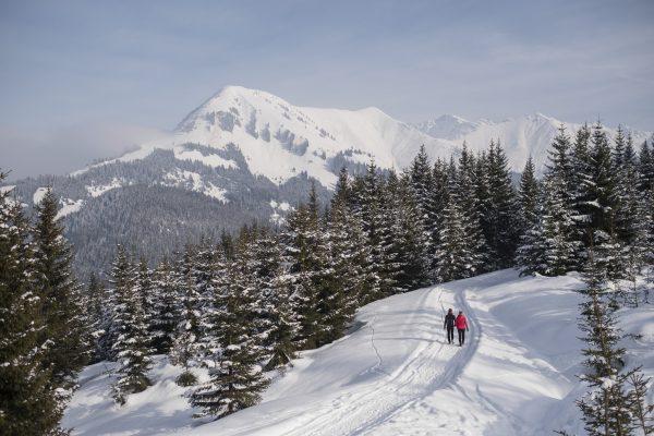 Winterwandelen Tirol Naturpark Reutte