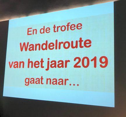 Wandelroute van het Jaar 2019