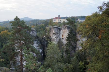 kasteel Hrubá Skála © Václav Bacovský