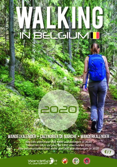 Cover Walking in Belgium 2020