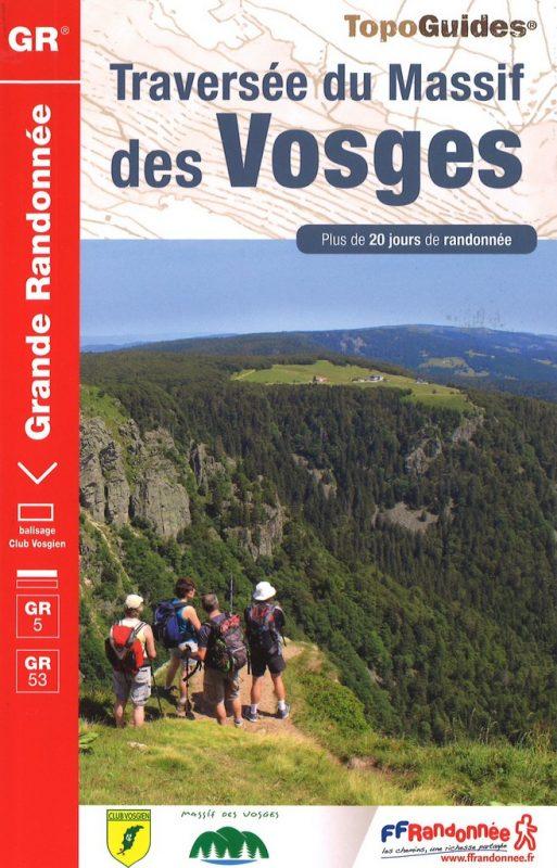 Topogids Vosges GR5