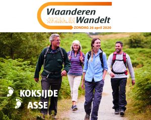 Vlaanderen Wandelt 26 april 2020