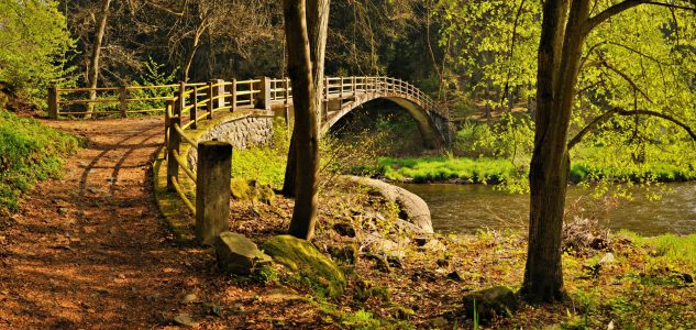 Small bridge Krachovka©Région Boheme du Sud