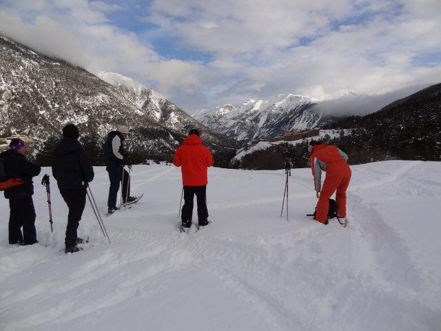 Wandelen met sneeuwschoenen