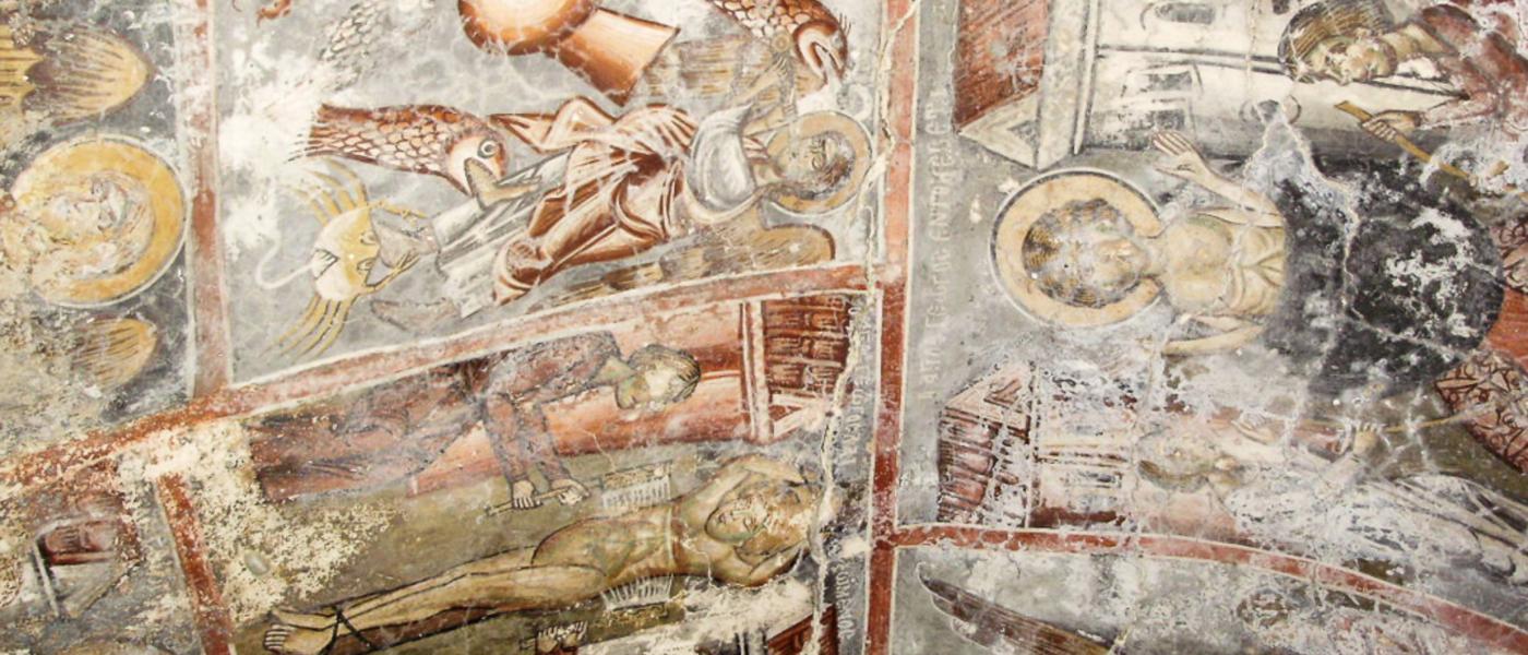 Frescowandeling Kreta