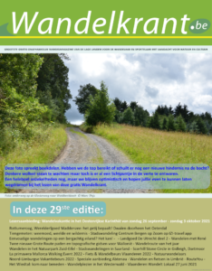 Wandelkrant 29 cover only