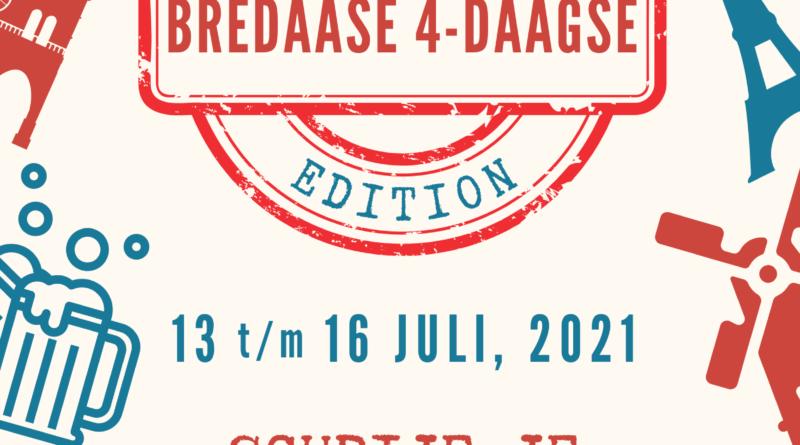 Poster Bredaase 4Daagse 2021